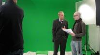 Greenscreen RMV Mainz studio Henry Dahlke Matthias Winckelmann