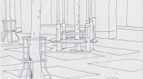 Trost background drawing
