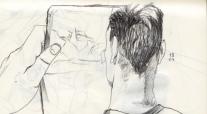 skizze von der skizze