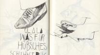 skizze schuhe sketch shoe